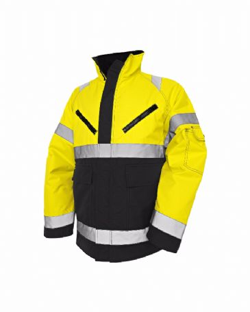 Blaklader 4827 High Vis, Winter Jacket, PU (Yellow/Black)